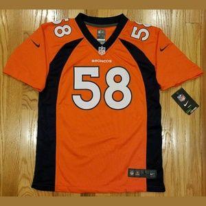 Nike NFL Denver Broncos Von Miller #58 Jerseys